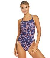 Arena Women's Carbonics MaxLife Pro Challenge Back One Piece Swimsuit