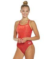 Arena Women's Spraypaint MaxLife Light Drop Back One Piece Swimsuit