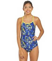 Arena Women's Power Triangle Light Drop One Piece Swimsuit