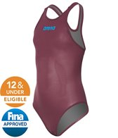 Arena Girls' Powerskin R-EVO Classic Tech Suit Swimsuit