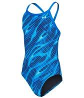TYR Girls' Reaper Diamondfit One Piece Swimsuit