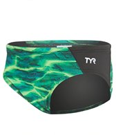 TYR Boys' Lambent Blade Racer Brief Swimsuit