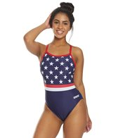 Arena Women's National Team Challenge Back One Piece Swimsuit