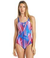 Arena Women's Shading Prism Swim Pro Back One Piece Swimsuit