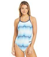 Arena Women's  Multicolor Stripes Light Drop Back One Piece Swimsuit