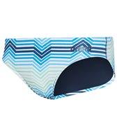 Arena Men's Multicolor Stripes Maxlife Brief Swimsuit