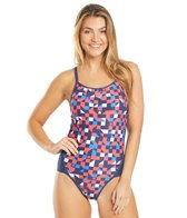 Arena Women's Red USA Superfly Back One Piece Swimsuit