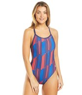 Arena Women's Arena USA Challenge Back One Piece Swimsuit