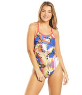 Arena Women's Origami Spray Challenge Back One Piece Swimsuit