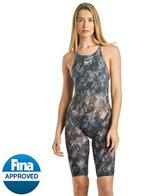 TYR Women's Supernova Avictor Open Back Tech Suit Swimsuit