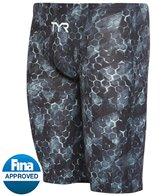 TYR Men's Avictor Supernova High Waist  Jammer Tech Suit Swimsuit
