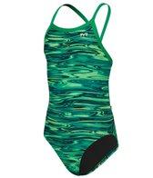 TYR Girls' Hydra Diamondfit One Piece Swimsuit
