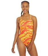 TYR X Simone Manuel Women's Ablaze Cutoutfit One Piece Swimsuit