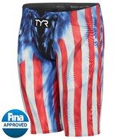 TYR Men's Venzo Genesis USA Jammer Tech Suit Swimsuit