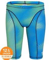 Speedo Men's Print Vanquisher Jammer Tech Suit Swimsuit