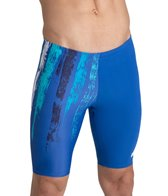 Arena Men's Team Painted Stripes Jammer Swimsuit