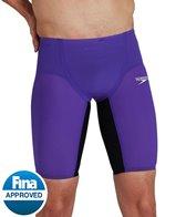 Speedo Men's Fastskin LZR Pure Valor High Waist Jammer Tech Suit Swimsuit
