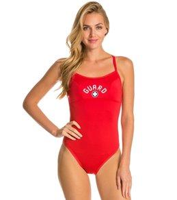 Women's One Piece Lifeguard Swimwear