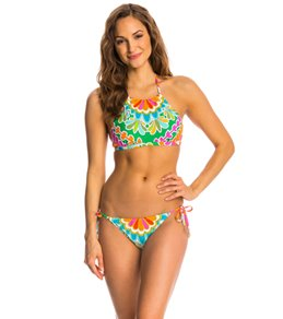 Trina Turk Swimwear Tamarindo High Neck Bra Bikini Top