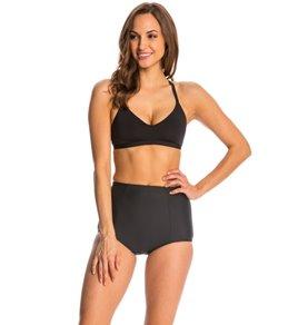 Skye So Soft Solid Katie Racerback Bikini Top