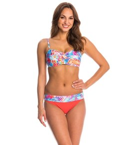 Sunsets Island Heat Twist Bandeau Bikini Top (E/F/G/H Cup)