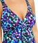 Penbrooke Splash Fly Away Faux Tankini One Piece Swimsuit