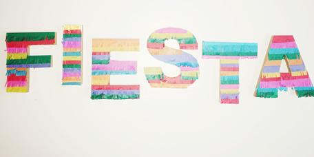 DIY Piñata Letters