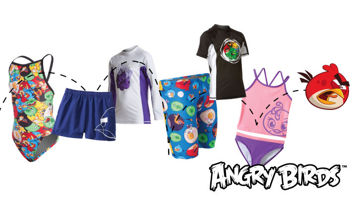 Angry Birds™ Has Landed at SwimOutlet.com!