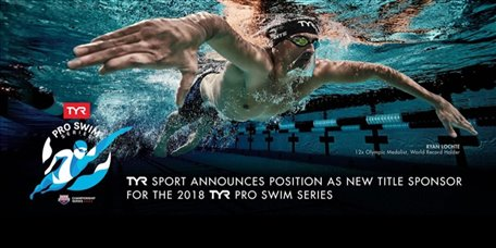 2018 TYR Pro Swim Series Has New Sponsor, New Name