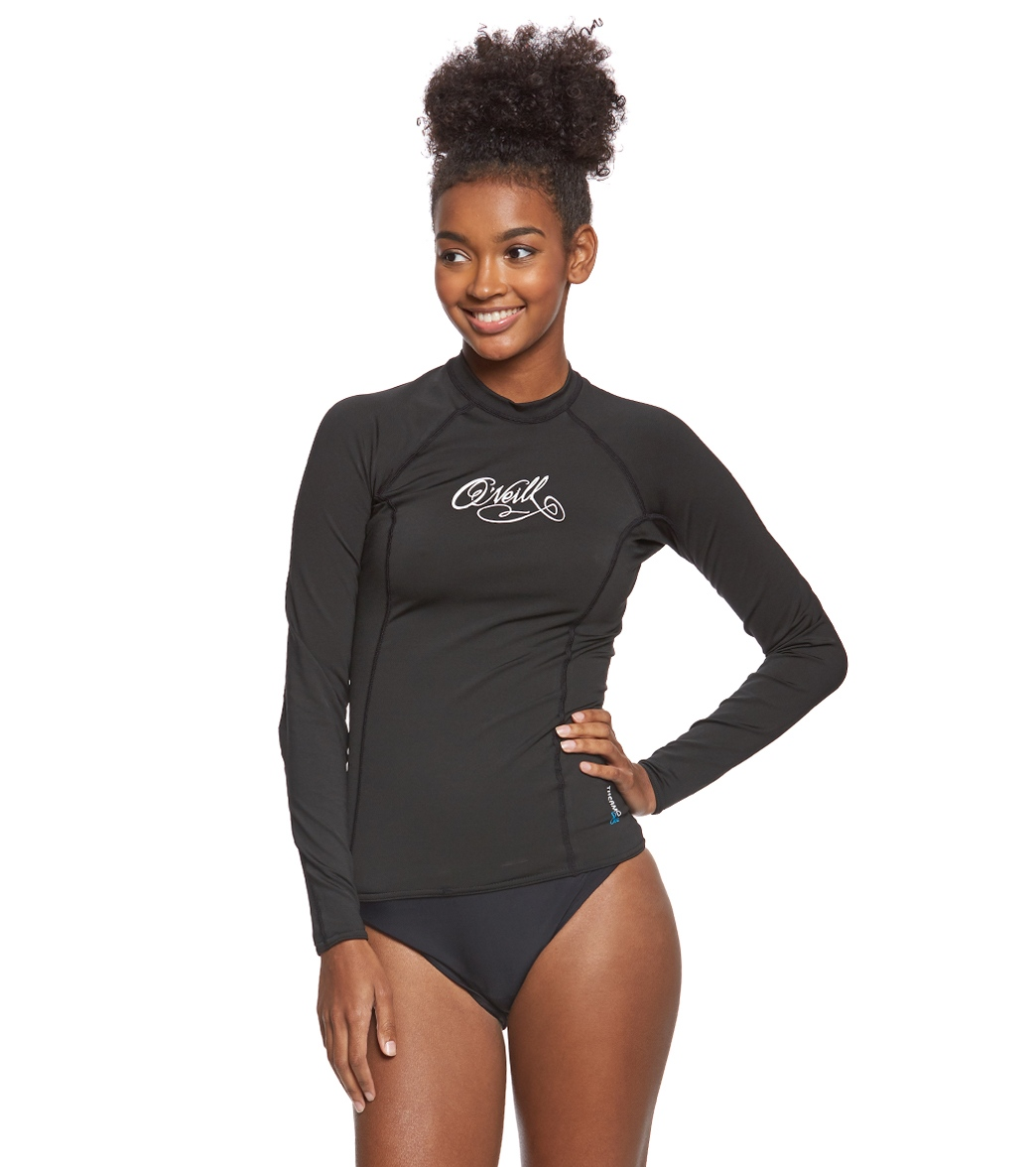 asics swimwear womens Black
