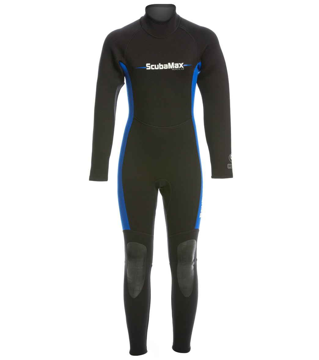 ScubaMax Kids 3mm Neoprene Full Wetsuit at SwimOutlet.com - Free Shipping
