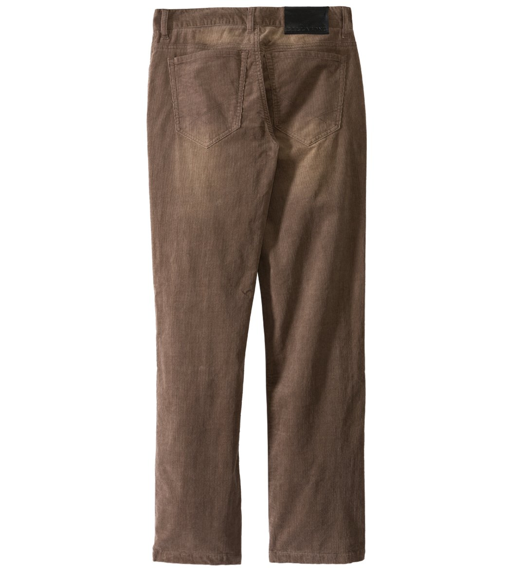 Billabong Men's Amplified Cord Pants at SwimOutlet.com - Free Shipping