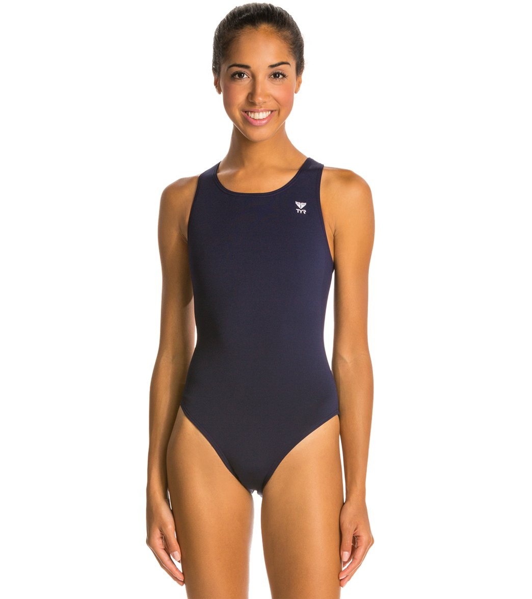 TYR Durafast Elite Solid Maxfit One Piece Swimsuit at SwimOutlet.com - Free  Shipping