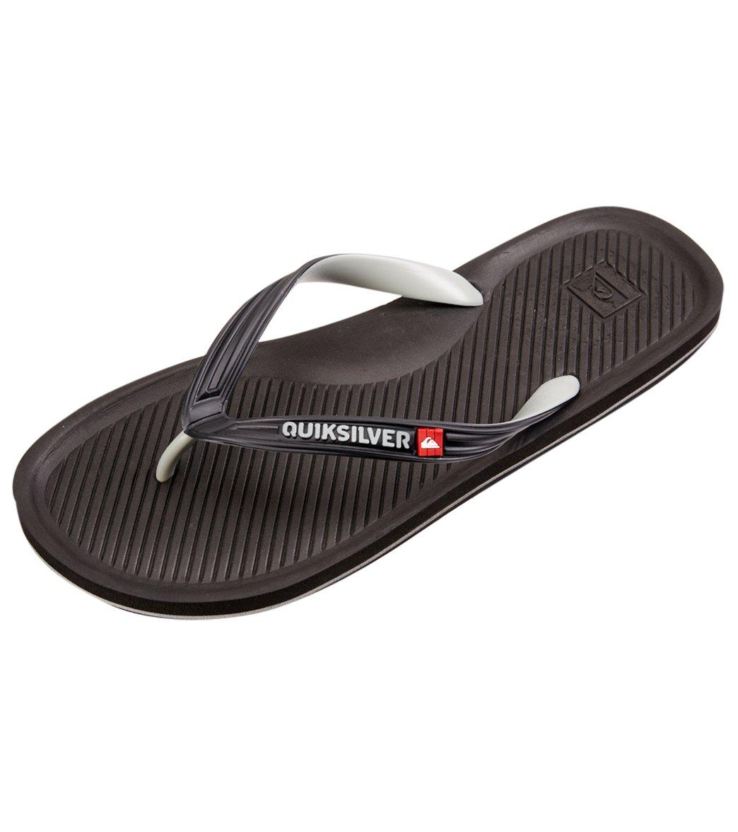 quiksilver flip flops