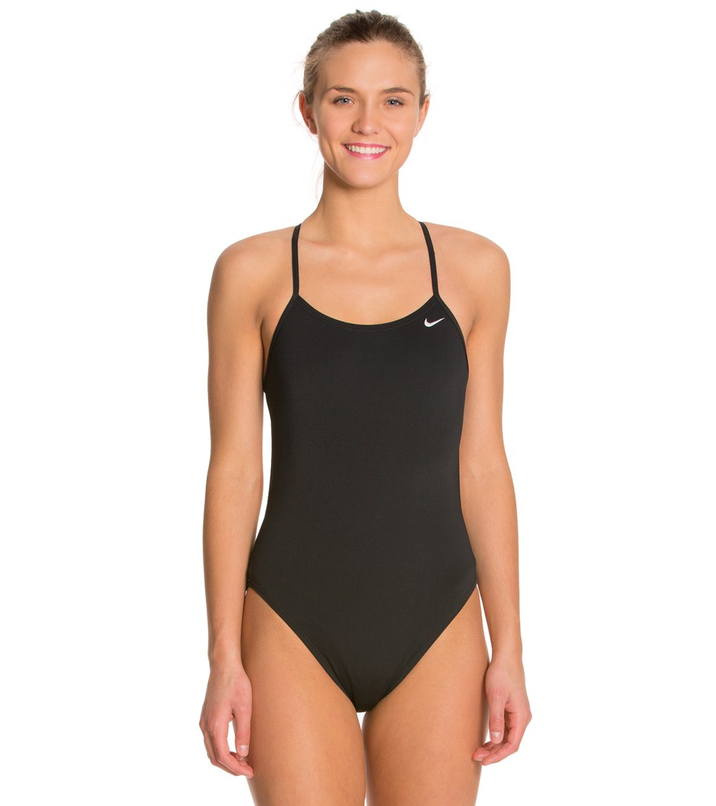 Nike Womens Swimsuit - Nike Big Swoosh Cut-Out Z64p6117