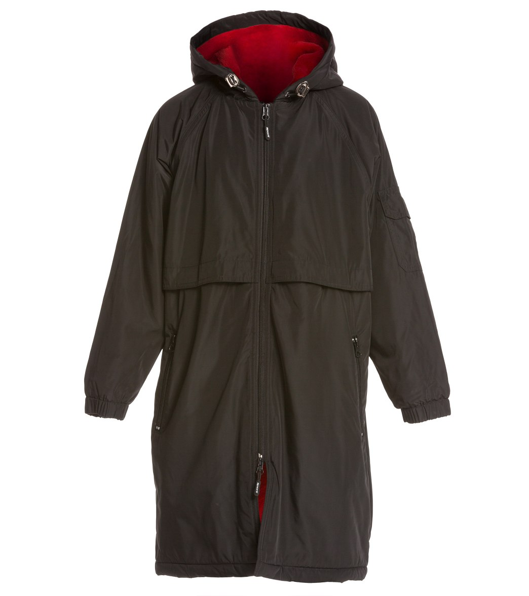 Sporti Comfort Fleece-Lined Swim Parka Youth at SwimOutlet.com ...