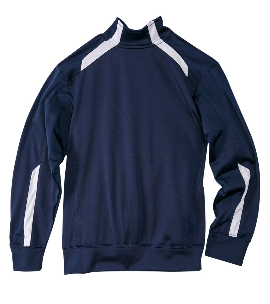 Nike Swim Youth Overtime Warm-Up Jacket at SwimOutlet.com
