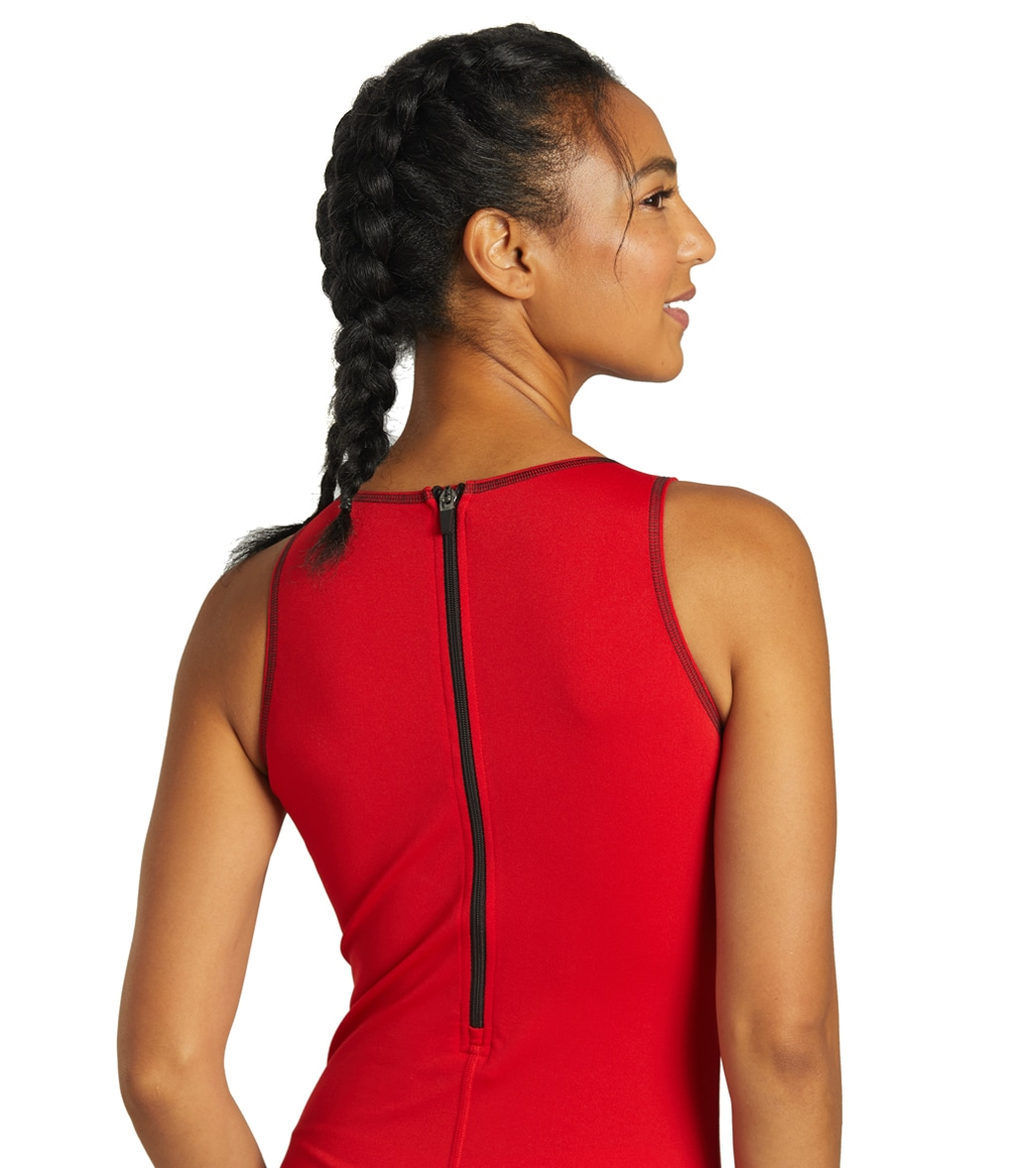 Sporti Poly Pro Women's Water Polo One Piece Swimsuit