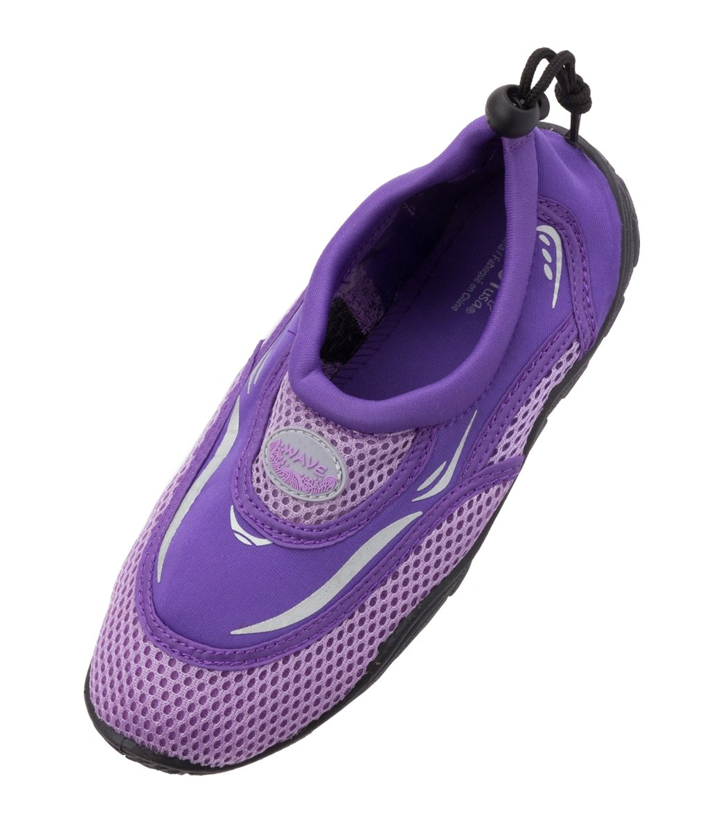 Water Shoes Men Women-For Aqua Surf/Beach/Wetsuit Trainers -Lightweight Mesh Areobic Water Shoes