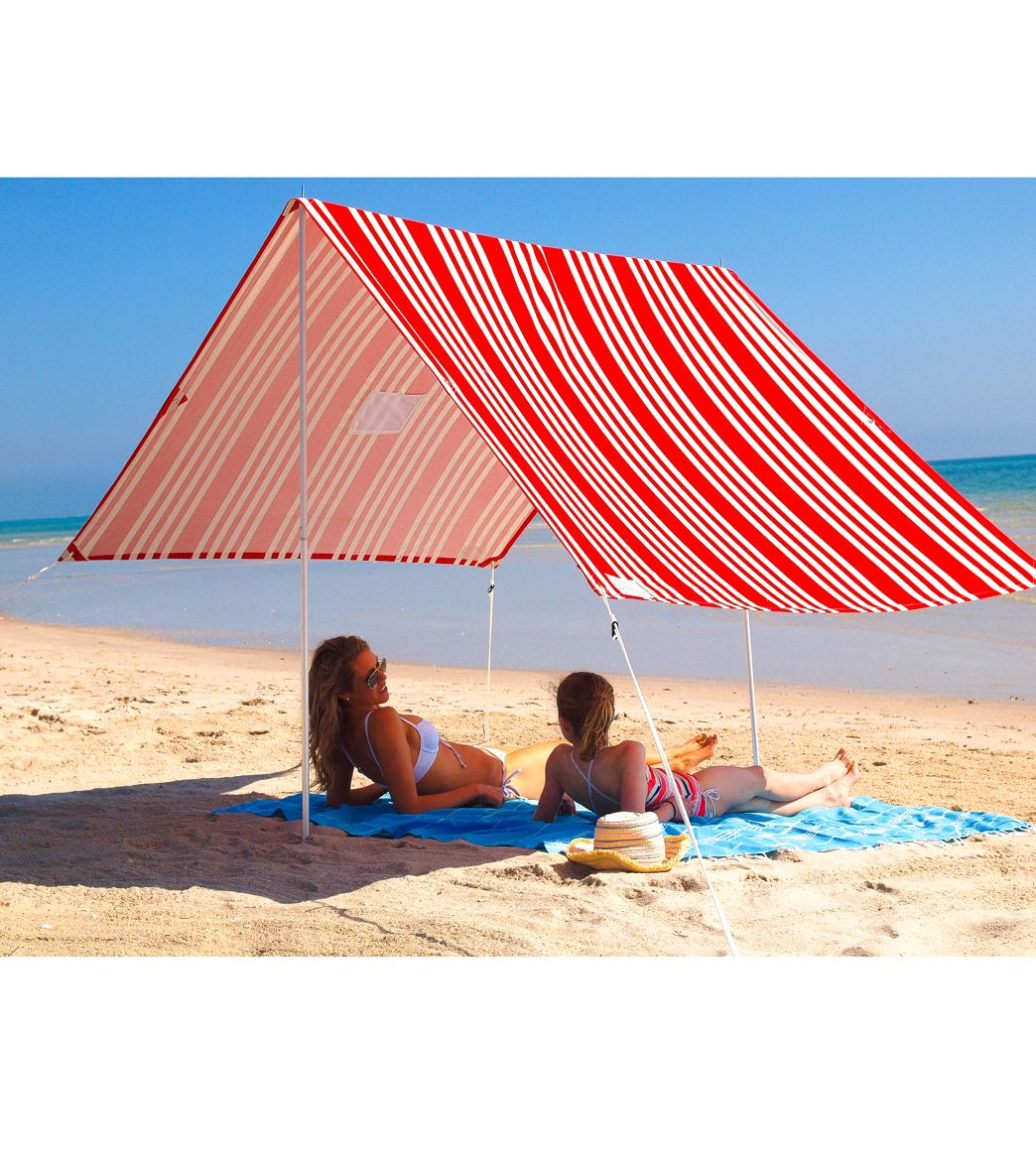 ... Sombrilla Beach Tent. View all colors  sc 1 st  SwimOutlet.com & Hollie u0026 Harrie French Stripe Red Sombrilla Beach Tent at ...