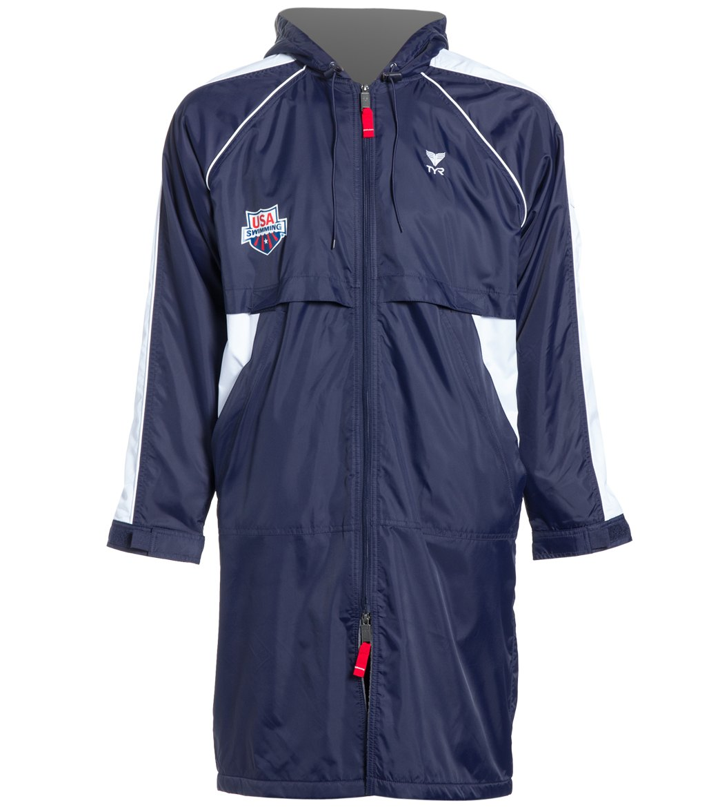 TYR USA Swimming Alliance Team Parka at SwimOutlet.com - Free Shipping