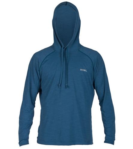 Xcel Men 39 S Jenson Long Sleeve Pullover Hooded Surf Shirt
