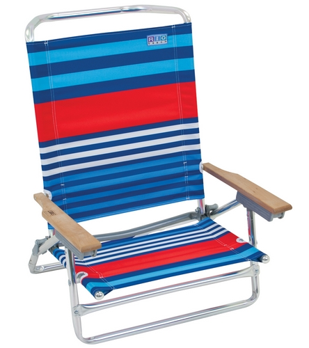 Rio Brands Classic 5 Position Beach Chair At Swimoutlet