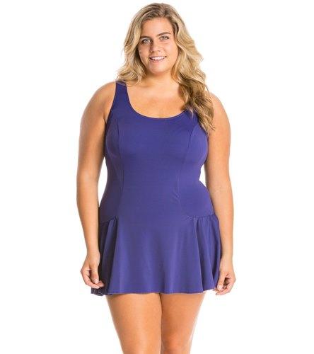 Plus Size Swim Dresses 53