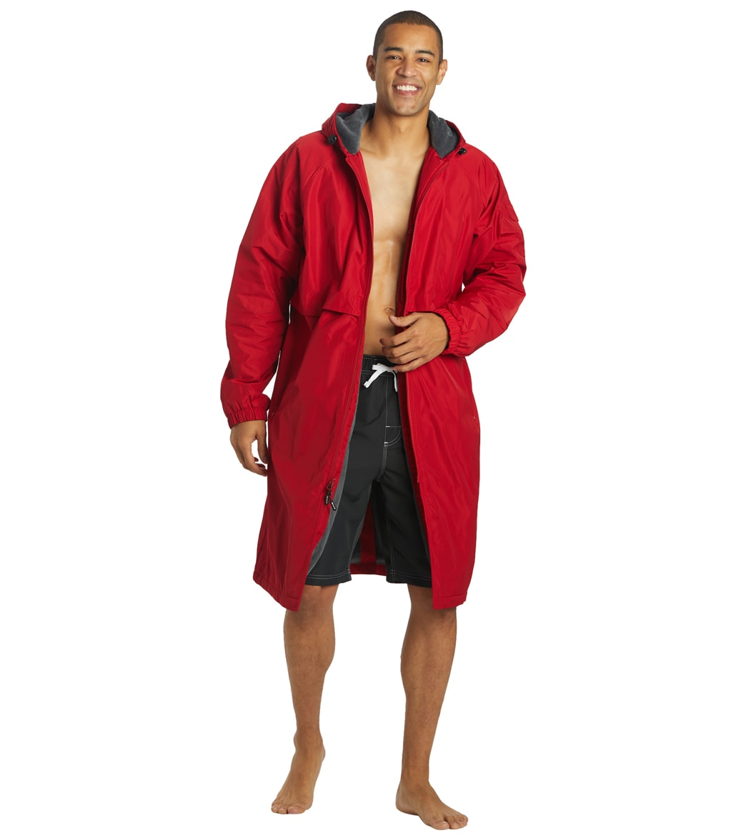 Sporti Guard Comfort Fleece-Lined Swim Parka at SwimOutlet.com ...