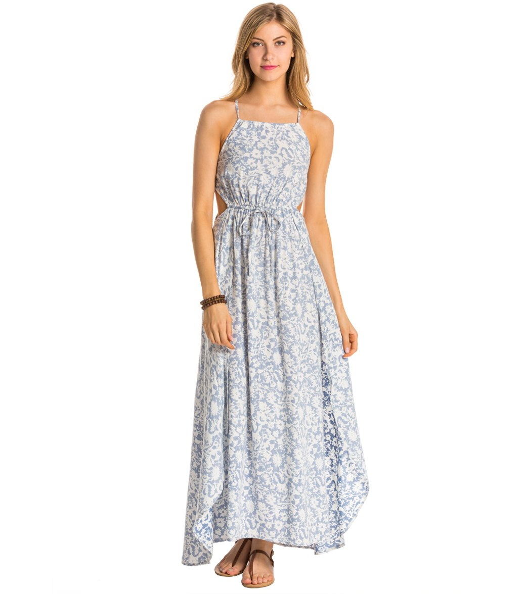Billabong Sounds Of The Sea Maxi Dress at SwimOutlet.com - Free ...