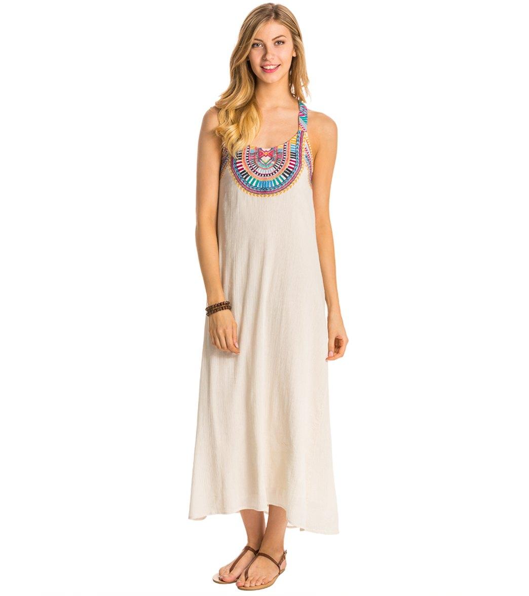 Sun maxi dress