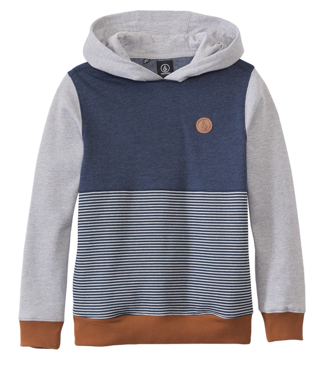 Volcom Boys' Threezy Pullover Hoodie Sweater (8yrs-20yrs) at ...