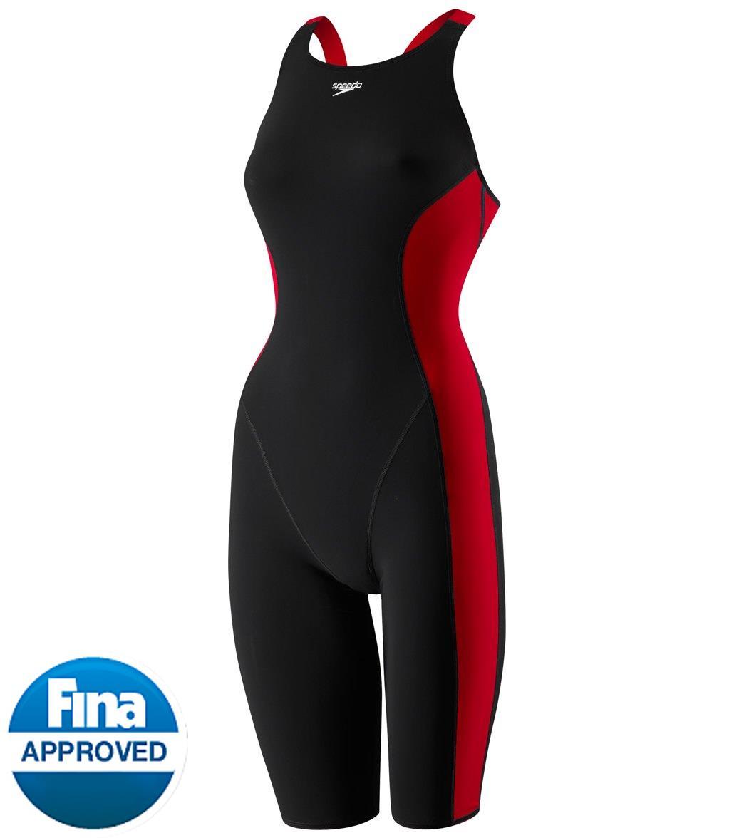 9a5a7911327d7 Speedo Women's Powerplus Kneeskin Tech Suit Swimsuit