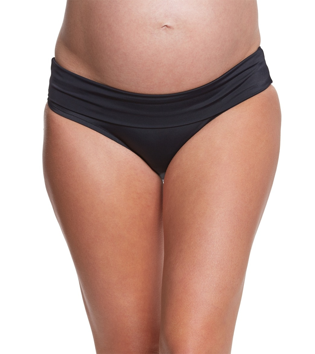 Prego maternity swimwear roll waist bikini bottom at swimoutlet ombrellifo Images
